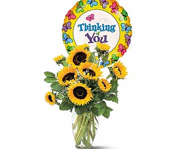 Shining Sunflowers by 1-800-balloons