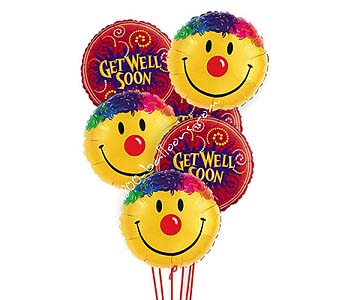 Get Well Smiles Balloons by 1-800-balloons