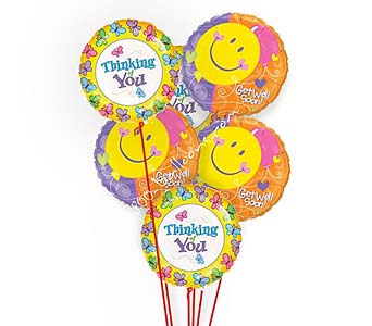 Get Well Thoughts Balloons by 1-800-balloons