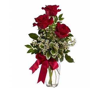 Thoughts Of You Bouquet With Roses by 1-800-balloons