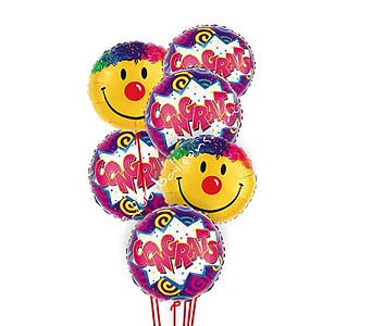 Congratulations Smiles Balloons by 1-800-balloons