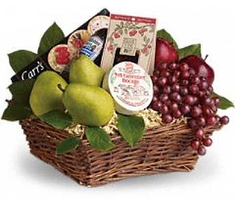 Delicious Delights Basket by 1-800-balloons