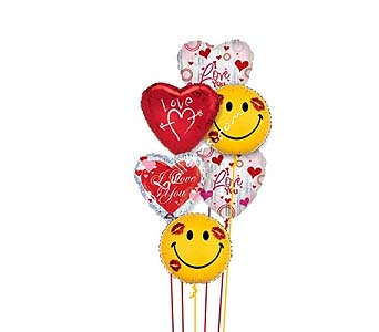 Love and Smiles by 1-800-balloons