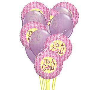 It's A Girl Balloons! by 1-800-balloons