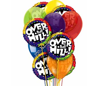 Over The Hill Balloons by 1-800-balloons