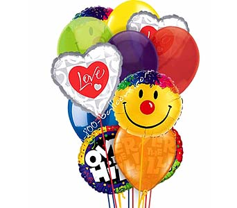 Over The Hill Love & Smiles Balloons by 1-800-balloons