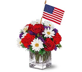 Freedom Bouquet by 1-800-balloons