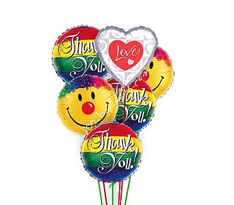 Thanks Love & Smiles Balloons by 1-800-balloons