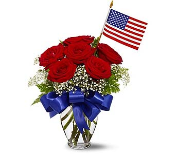 Star Spangled Roses by 1-800-balloons