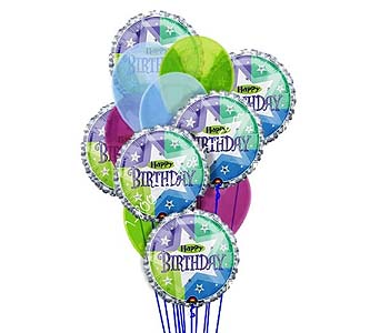 Delightful Birthday Balloons by 1-800-balloons