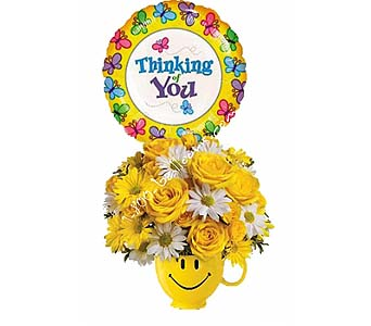 Be Happy DX Thinking Of You by 1-800-balloons