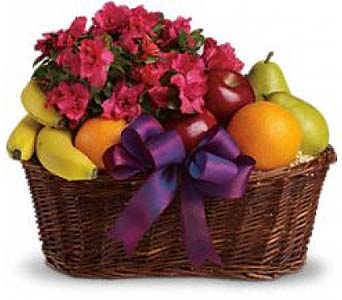 Fruits And Blooms Basket by 1-800-balloons