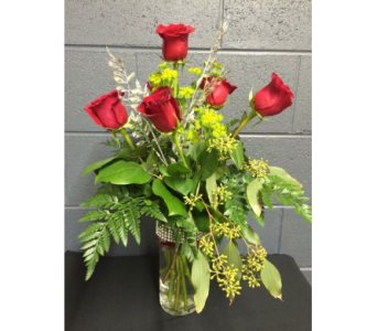 1/2 Dozen with Bling in Eau Claire WI, May's Floral Garden, Inc.