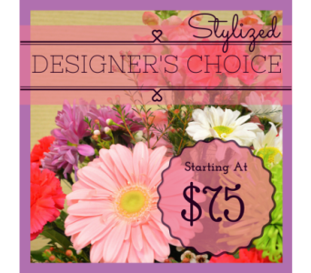 Stylized Designer's Choice in Utica NY, Chester's Flower Shop And Greenhouses