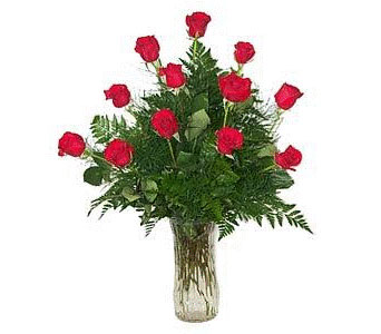 Dozen Red Roses in Laurel MD, Rainbow Florist & Delectables, Inc.