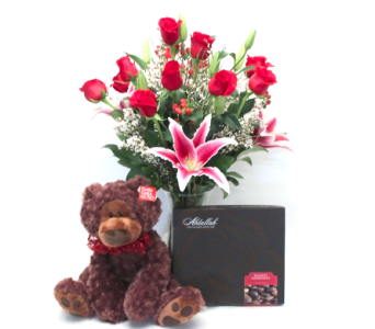 The Grand Gift Bundle in Ft. Collins CO, Palmer Flowers