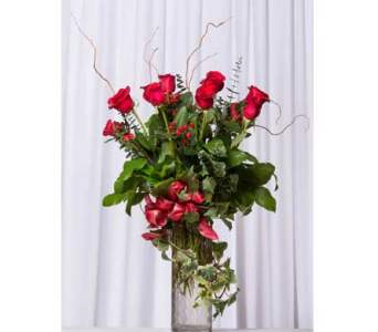 V101 Long Stem Roses in Santa Clarita CA, Celebrate Flowers and Invitations