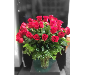 50 SHADES OF RED in Missouri City TX, Flowers By Adela
