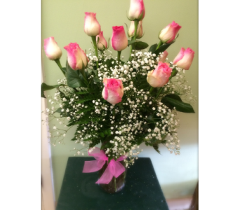 MY PINK ROSES in Missouri City TX, Flowers By Adela