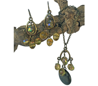 Taj Necklace & Earring Set 50% OFF in Eugene OR, Dandelions Flowers