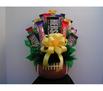 Football Candy Bouquet  in Coeur D'Alene ID, Hansen's Florist & Gifts