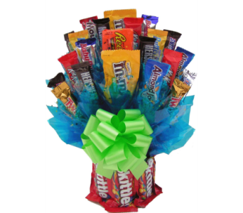 Skittles N' More Candy Bouquet  in Coeur D'Alene ID, Hansen's Florist & Gifts