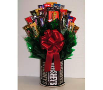 Hershey's N' More Candy Bouquet  in Coeur D'Alene ID, Hansen's Florist & Gifts