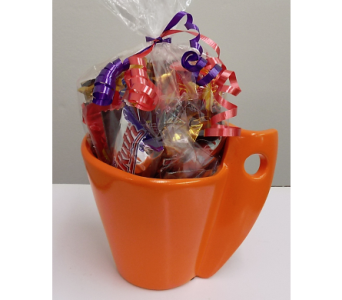 Candy in Mug in Lawrence KS, Owens Flower Shop Inc.