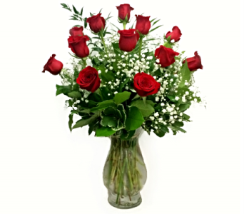 SIGNATURE LONG STEM PREMIUM DOZEN ROSES in Arlington VA, Twin Towers Florist