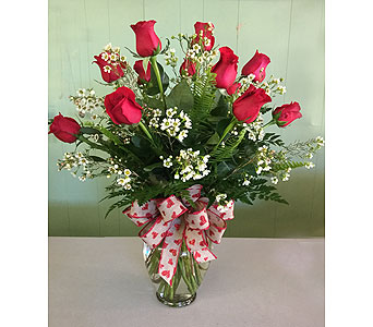 Dozen Roses in Mooresville NC, All Occasions Florist & Boutique<br>704.799.0474