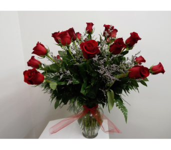 Two Dozen Red Roses in Lawrence KS, Owens Flower Shop Inc.