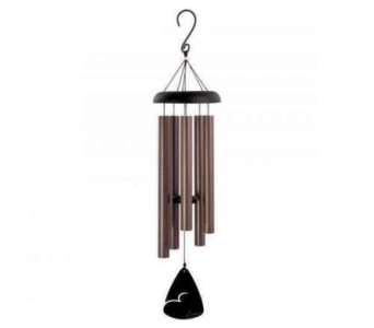 Carson Bronze Wind Chime in Troy OH, Trojan Florist & Gifts