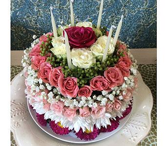 Custom Birthday Cake in Vero Beach FL Artistic First Florist