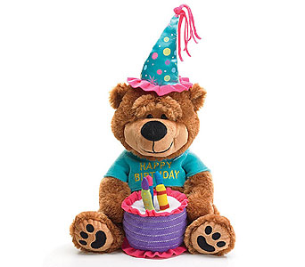 Birthday Bear in Princeton, Plainsboro, & Trenton NJ, Monday Morning Flower and Balloon Co.