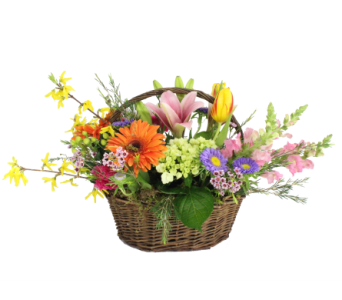 Basket of Blooms in Silver Spring MD, Bell Flowers, Inc