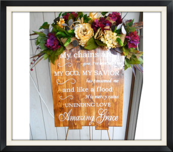 Grace For All-Plaque in Tyler TX, The Flower Box