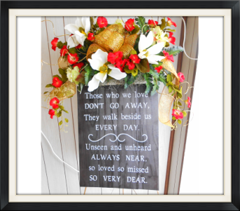 Inspirational Plaque in Tyler TX, The Flower Box