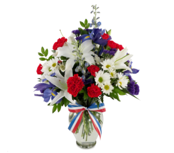 America the Beautiful Bouquet in Southfield MI, Thrifty Florist