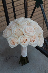 All Rose Wedding Bouquet in Meridian ID, Meridian Floral & Gifts