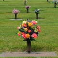 Cemetery Vase in Fond Du Lac WI, Haentze Floral Co