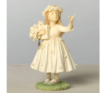 First Communion Girl Figurine in Timmins ON, Timmins Flower Shop Inc.