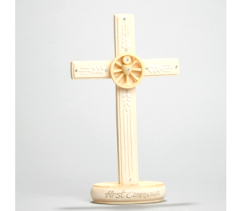 Communion Cross Figurine in Timmins ON, Timmins Flower Shop Inc.