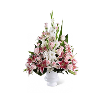The FTD� Precious Peace� Arrangement in Branford CT, Myers Flower Shop