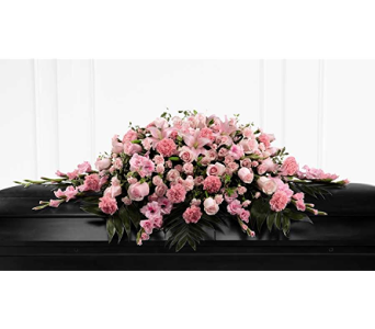 The FTD� Sweetly Rest� Casket Spray in Branford CT, Myers Flower Shop