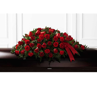 The FTD� Dearly Departed� Casket Spray in Branford CT, Myers Flower Shop