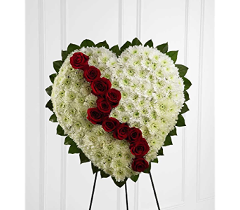 The FTD� Broken Heart� in Branford CT, Myers Flower Shop