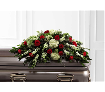 The FTD� Sincerity� Casket Spray in Branford CT, Myers Flower Shop