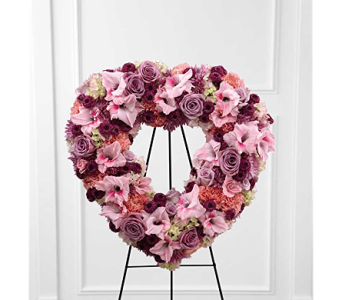 The FTD� Eternal Rest� Standing Heart in Branford CT, Myers Flower Shop