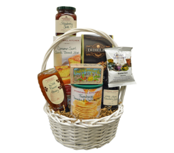Gourmet Breakfast Basket in Richboro PA, Fireside Flowers