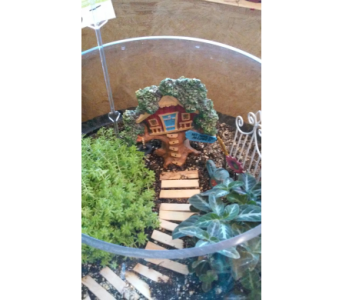 Milton's Fun Fairy Garden in Saratoga Springs NY, Dehn's Flowers & Greenhouses, Inc